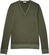 Tomas Maier - Two-tone Wool Sweater