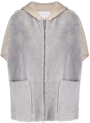 Fabiana Filippi oversized two-tone jacket