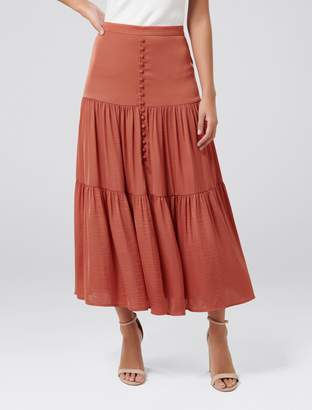 Ever New Lilly Petite Tiered Maxi Skirt