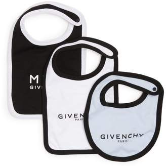 Givenchy Kids Logo Bibs (Pack of 3)