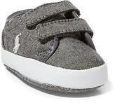 Ralph Lauren Ethan Chambray Low EZ Sneaker