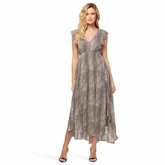 Jessica Simpson Women's Gabbie Pretty Flowy Maxi Dress