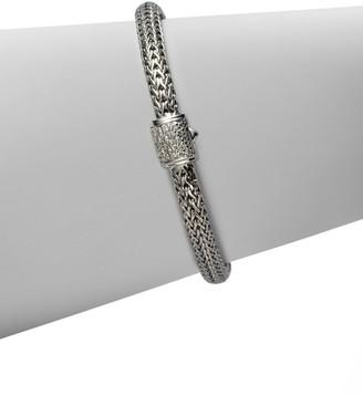 John Hardy Classic Chain Diamond & Sterling Silver Extra-Small Bracelet
