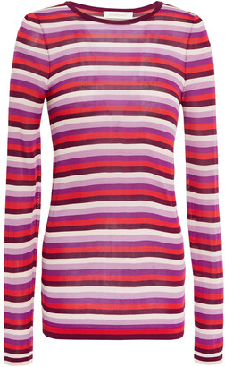 Zimmermann Striped Knitted Top