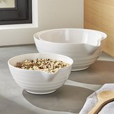 Crate & Barrel Set of 3 Spouted Bowls
