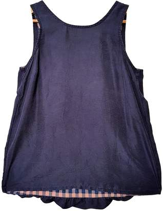 Marc by Marc Jacobs Blue Silk Top for Women