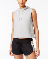 adidas Sleeveless French Terry Hoodie