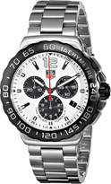 Tag Heuer Men's CAU1111.BA0858 Formula 1 Dial Chronograph Steel Watch