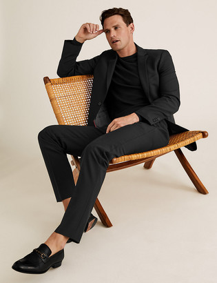 Marks and Spencer The Ultimate Black Slim Fit Trousers