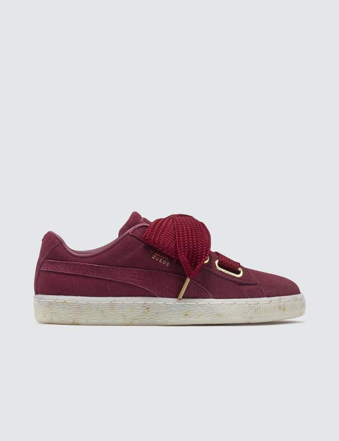 best sneakers 9a90b 5a77c Suede Heart Celebrate