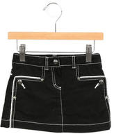 Junior Gaultier Girls' Contrast Stitch Skirt