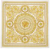 Versace White Silk Barocco Scarf