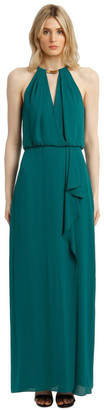 BCBGMAXAZRIA Love Eve Halter Dress