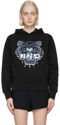Kenzo Black Classic Tiger Hoodie