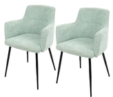 Lumisource Andrew Dining Chairs (Set of 2)