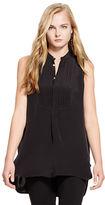 Polo Ralph Lauren Sleeveless Bib Front Shirt