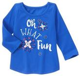 Gymboree What Fun Tee
