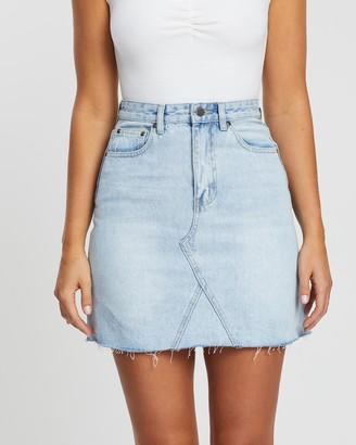 Atmos & Here Valerie Denim Mini Skirt