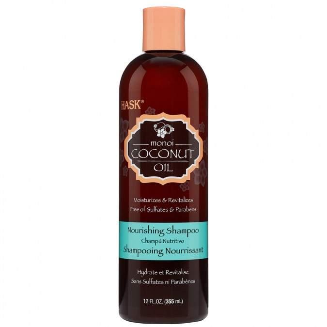 Hask Monoi Coconut Oil Nourishing Shampoo 355 mL