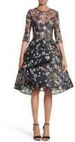 Monique Lhuillier Women's Embroidered Lace Party Dress