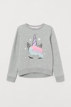 H&M Sweatshirt with sequins