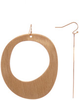Trina Turk Flat Open Drop Earrings