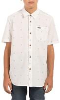 Volcom Boy's Interlude Print Woven Shirt