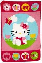 Hello Kitty Toddler Fleece Blanket by