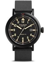 Filson Scout Argonite Quartz Watch - 45.5mm, Rubber Strap (For Men)