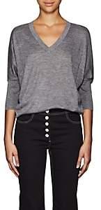 Derek Lam Women's Ezme Cashmere-Silk Sweater - Gray