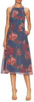 Rachel Roy Organza Printed Midi Dress