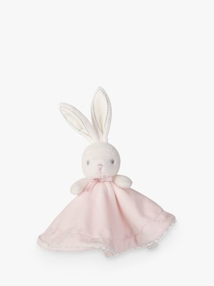 Kaloo Round Dou Dou Rabbit Comforter Soft Toy, Pink
