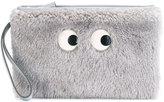 Anya Hindmarch cartoon eyes clutch