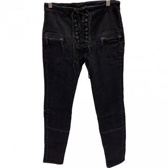 Unravel Project Navy Denim - Jeans Jeans