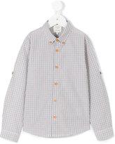 Carrèment Beau - checked button down shirt - kids - Cotton - 8 yrs