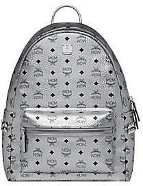 MCM Men's Stark Side Studs Metallic Visetos Backpack