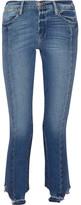 Frame High Mix Straight-leg Jeans - Mid denim