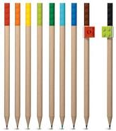 Lego Colored Pencils, 9ct - Multicolor