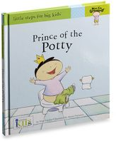 Bed Bath & Beyond Now I'm Growing! Prince of the Potty in Little Steps for Big Kids Potty Training Book