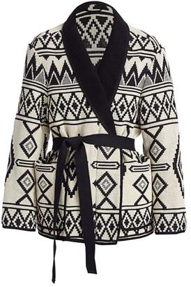 Etoile Isabel Marant Breedalia Printed Knit Jacket