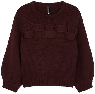 Palones Bordeaux woven cotton-blend jumper by Harvey Nichols, available on shopstyle.com for $81 Gigi Hadid Top SIMILAR PRODUCT