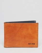 Jack Spade Mitchell Leather Bi-Fold Wallet