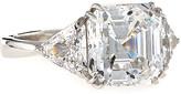FANTASIA Asscher-Cut Cubic Zirconia Ring