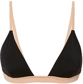 Solid & Striped Morgan Black Triangle Bikini Top