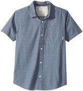 Quiksilver Heat Wave Short Sleeve Shirt Boy's Short Sleeve Button Up