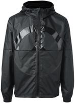 Love Moschino peace symbol windbreaker