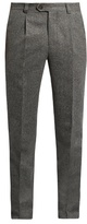 Brunello Cucinelli Slim-leg Wool And Silk-blend Trousers
