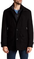Nick Graham Albert Double Collar Filled Coat