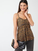 Very Leopard Printed Cami - Multi