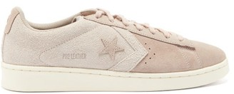 Converse Pro Leather Suede Trainers - Light Pink